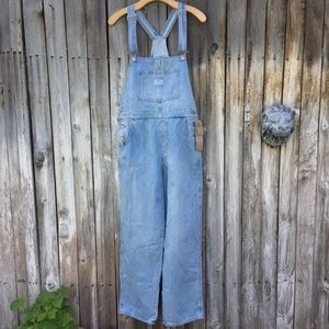 NWT Levi's Vintage Denim Overalls Throw Back S